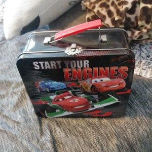 Cars Tin Lunchbox